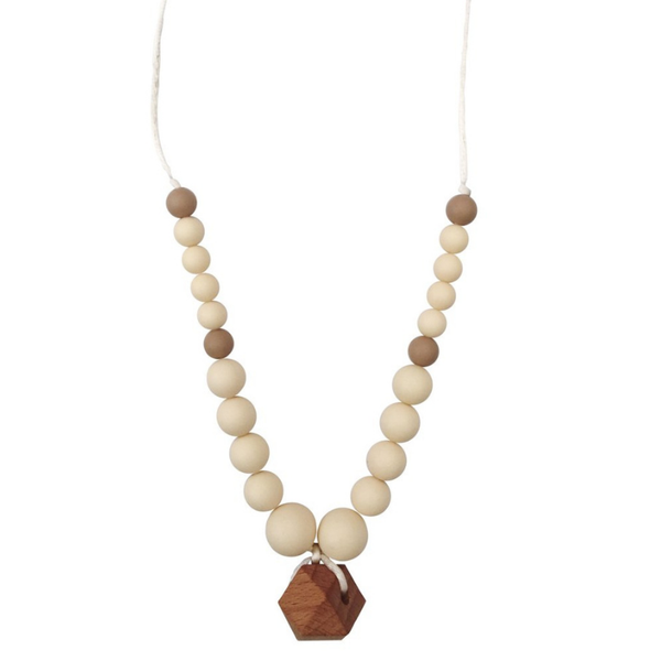 Chewable Charm Teething Necklace Collins