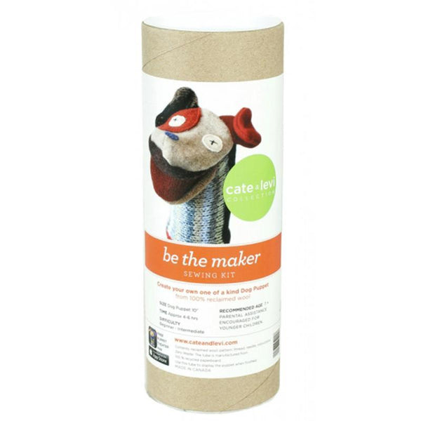 Cate and Levi Wool Puppet Making Kit - Dog