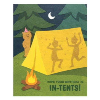 Good Paper In-Tents