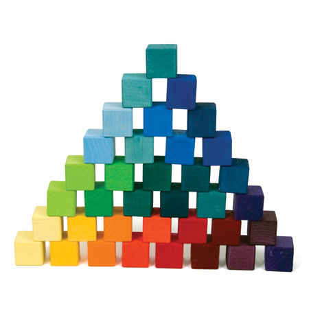 Grimm 36 Rainbow Building Blocks