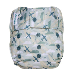GroVia Hybrid Cloth Diaper Shell Snap Closure
