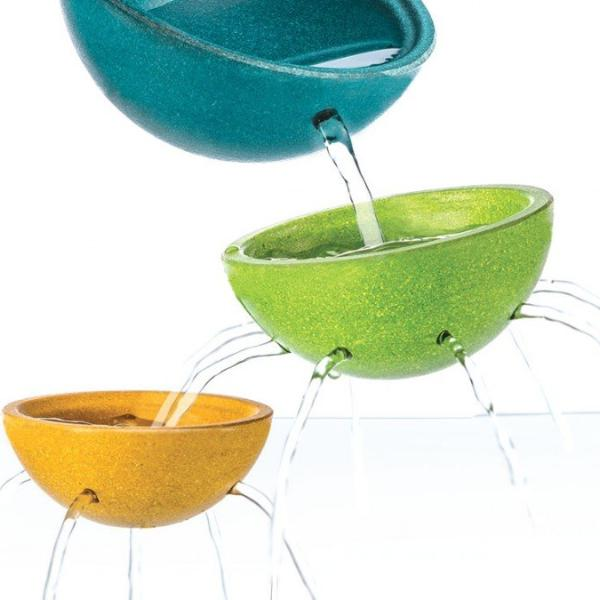 Plan Toys Bath -Fountain Bowl Set