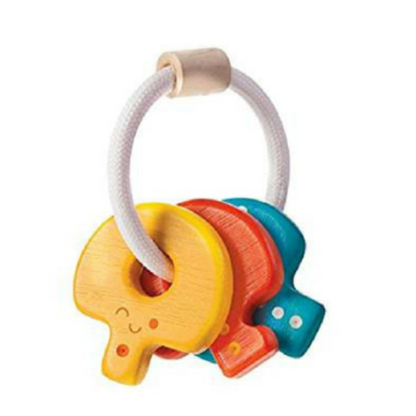 Plan Toys Baby Key Rattle The Nesting House