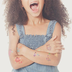 Tattly temporary tattoos Menangerie Set