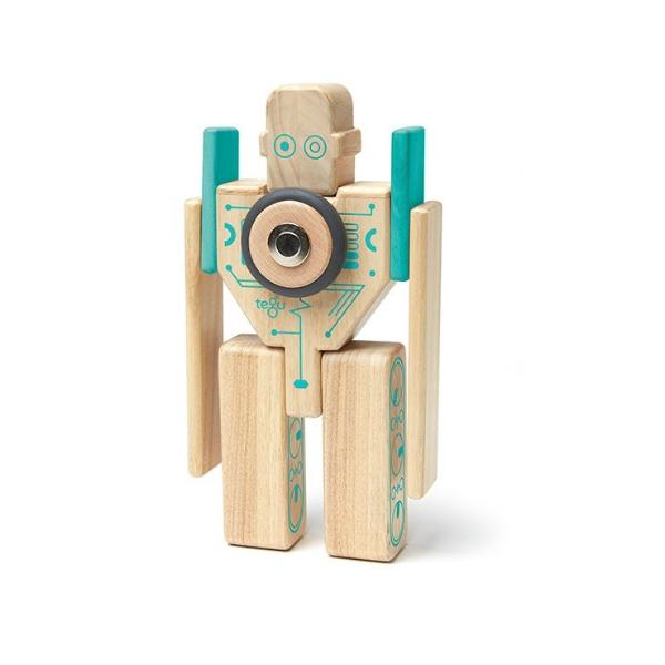 Tegu Magnetic Blocks Magbot