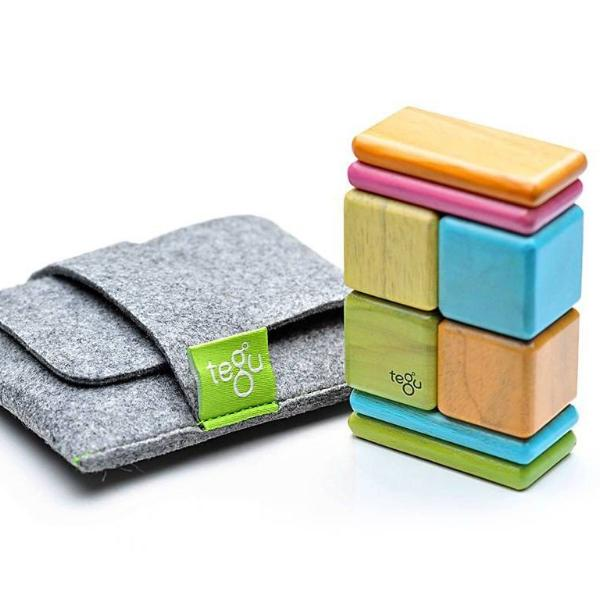 Tegu Magnetic Blocks Pocket Pouch Tints