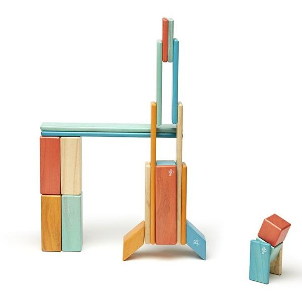 Tegu Magnetic Blocks Sunset 24 Piece