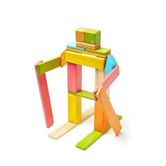 Tegu Magnetic Blocks Tints 24 Piece