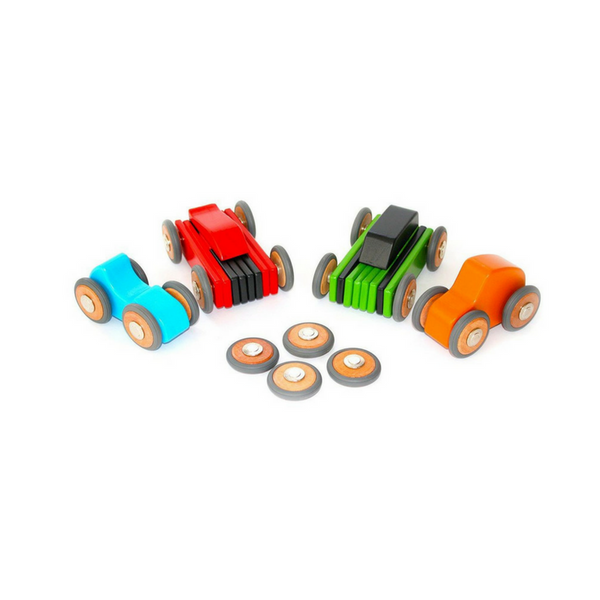Tegu Magnetic Blocks Wheels