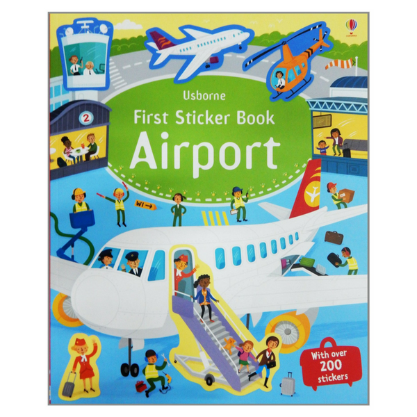 Usborne First Sticker Airport