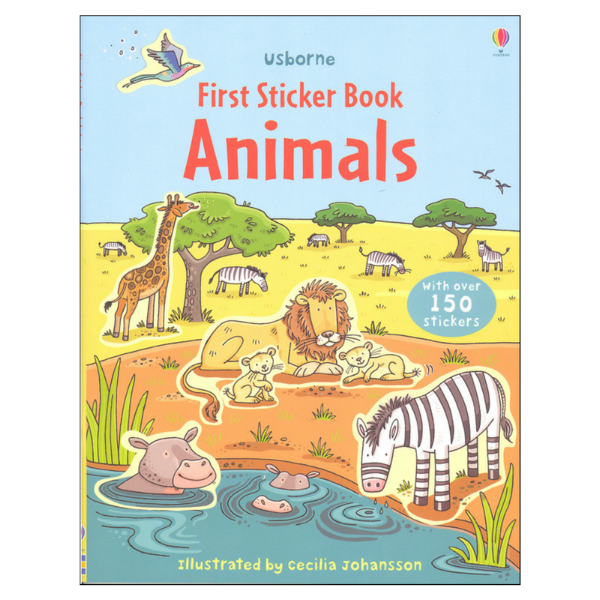 Usborne First Sticker Animals