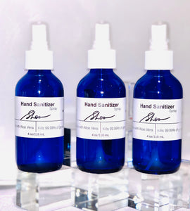 Hand Sanitizer: #BlueBottle Collection  - Set of 3 (4 oz each)