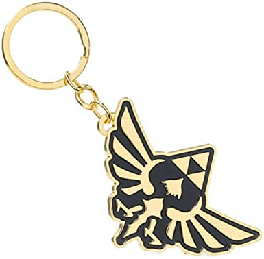 Legend of Zelda Triforce Keychain