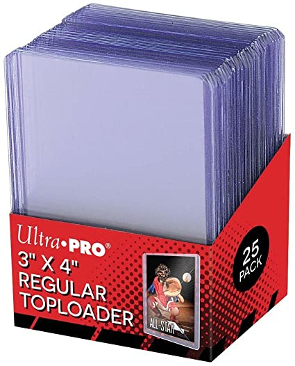 Ultra Pro Top Loader 3 x 4""