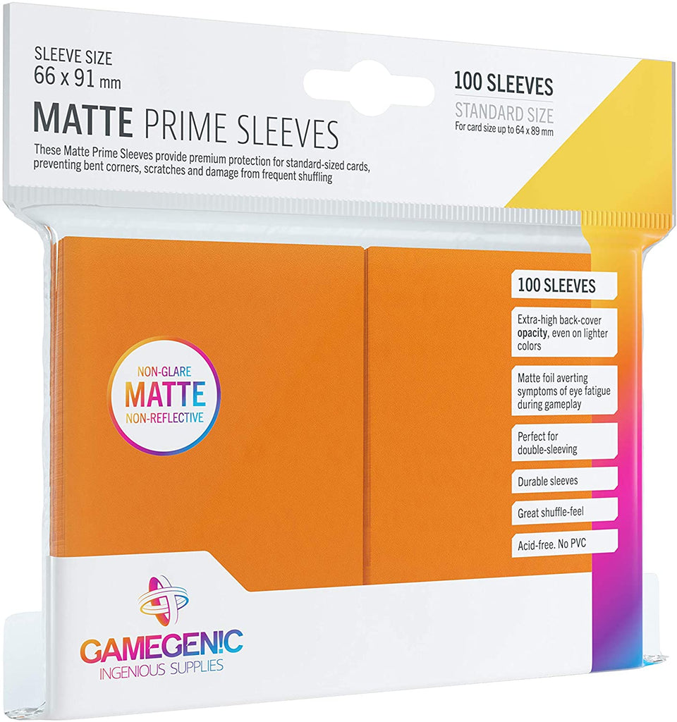 Gamegenic Matte Prime Sleeves