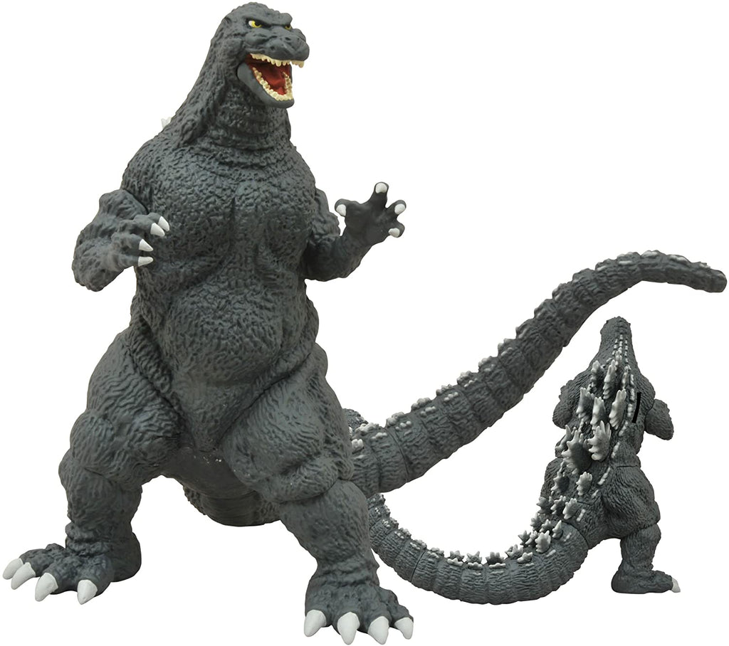 DIAMOND SELECT TOYS Godzilla Classic 1989 Vinyl Figure Bank, Multi-Colored