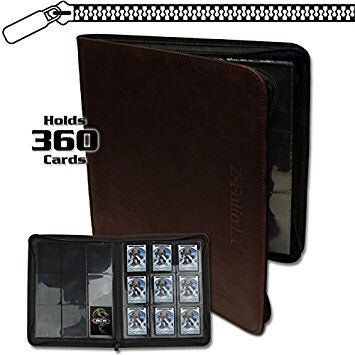 Z Folio 9-Pocket LX 360 Card Album