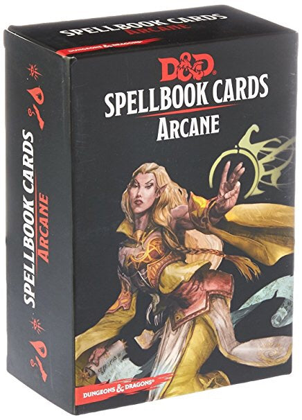 D&D 5th Edition Spellbook Cards Arcane