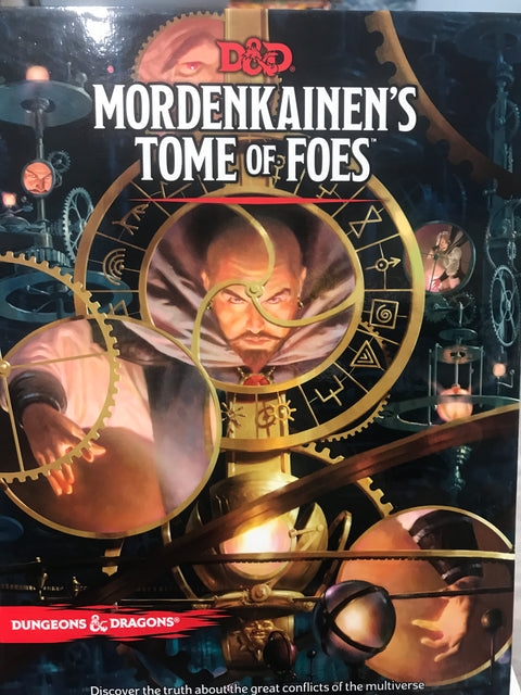 D&D 5E Mordenkaine's Tome of Foes