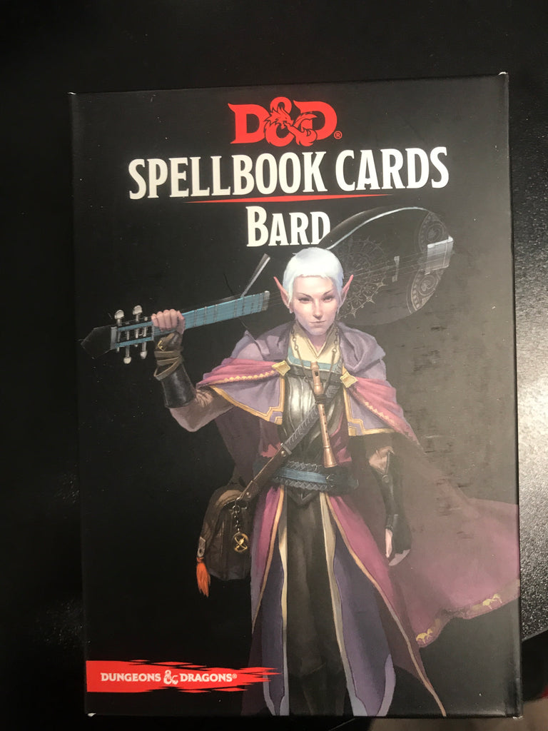D&D 5th Edition Spellbook Cards Druid