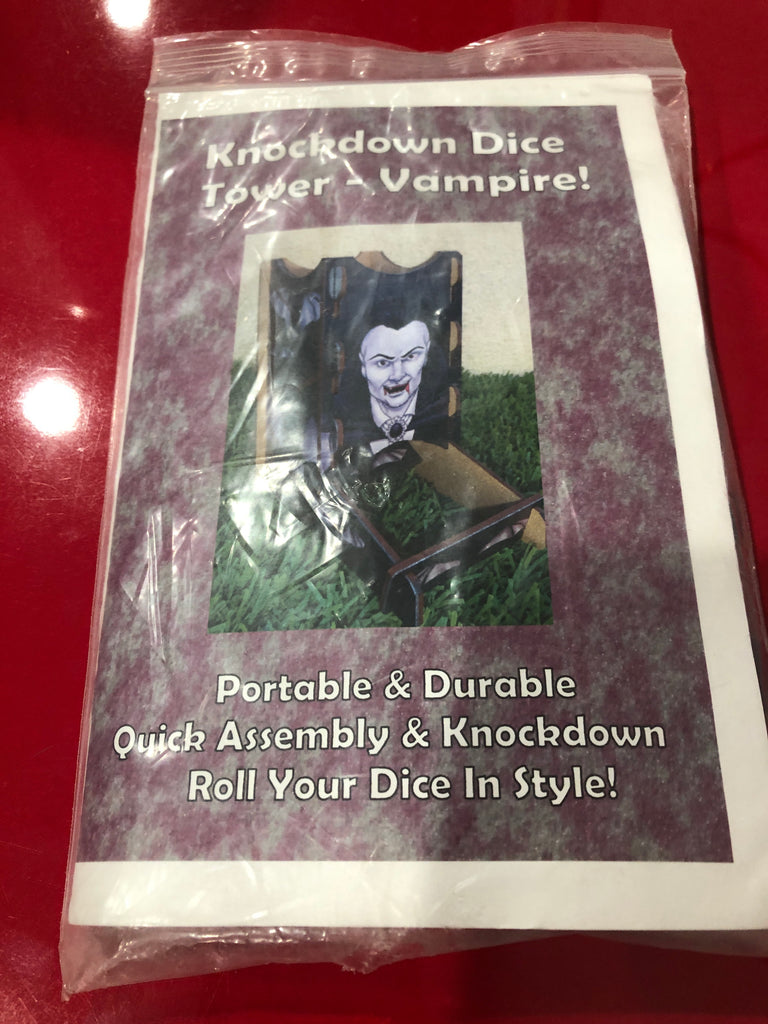 Knockdown Dice Tower: Vampire