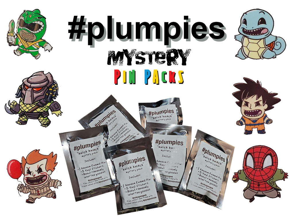 #PLUMPIES Mystery Pin Pack