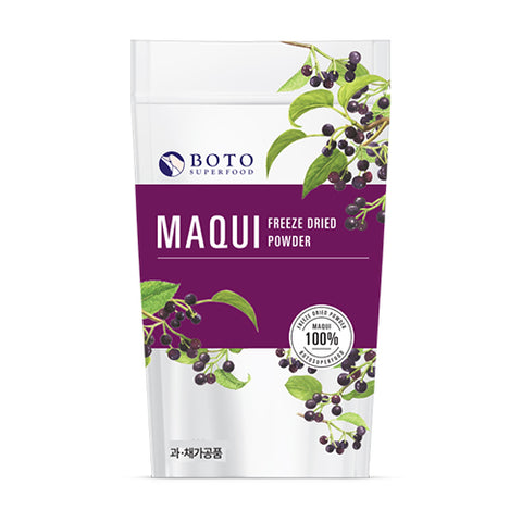Maqui Berry Freeze Dried Powder 100 Grams Botosuperfood