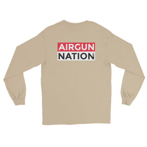 Long Sleeve T-Shirt AGN logo (front & back)