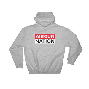 Hooded Sweatshirt AGN logo (front & back)