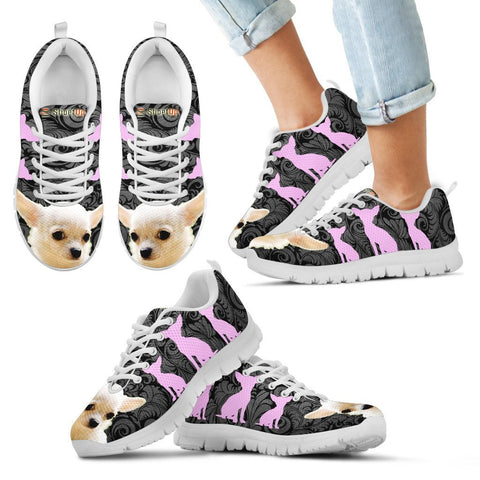 Cute Chihuahua Print-Kid's Running Shoes-Free Shipping