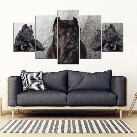 Cane Corso Print- Piece Framed Canvas- Free Shipping