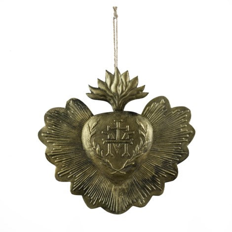 Ex-Voto Heart Ornament