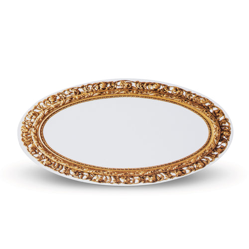 Oval Frame Place Cards