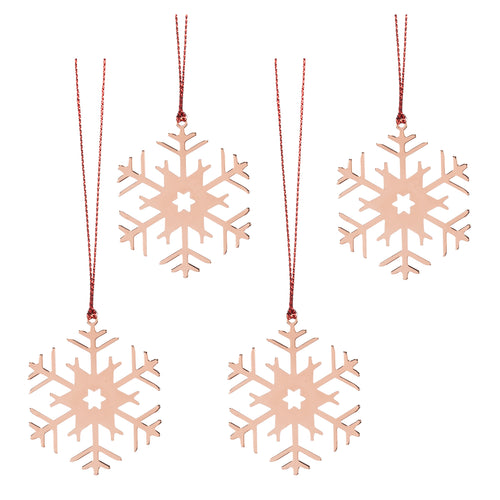 Copper Flat Snowflakes SALE