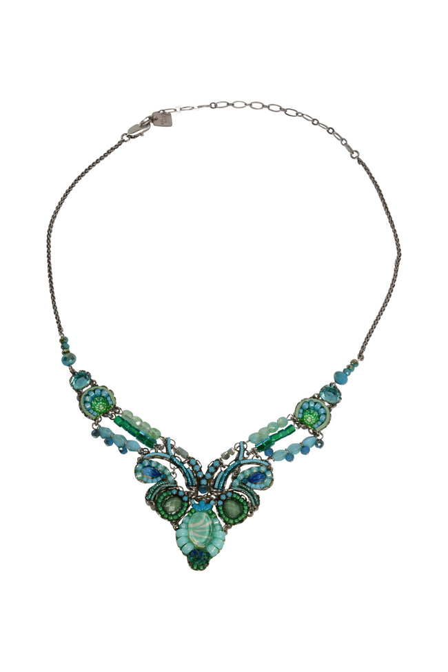 "Ayala Bar Necklace ""Garden Meditation"""