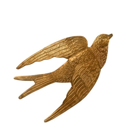 Golden Bird Ornament