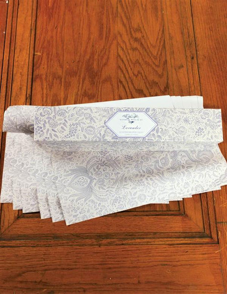 Perfumed Drawer Liners