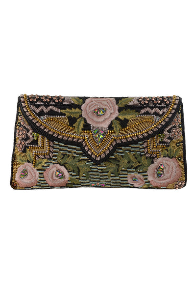 "Mary Frances ""Parisian"" Beaded Clutch"