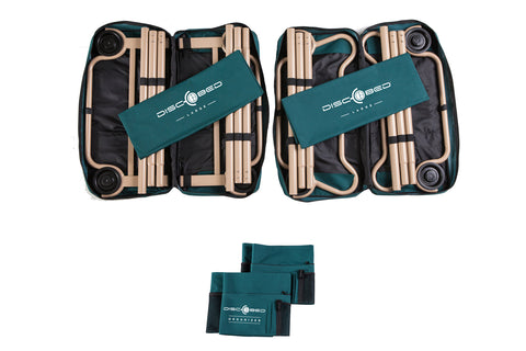 Disc-O-Bed Large with Organizers Green