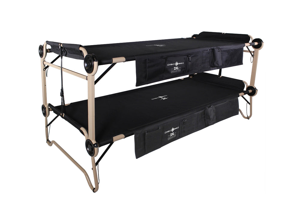 Disc O Bed 2xl With Organizers Disc O Bed Retail Inc
