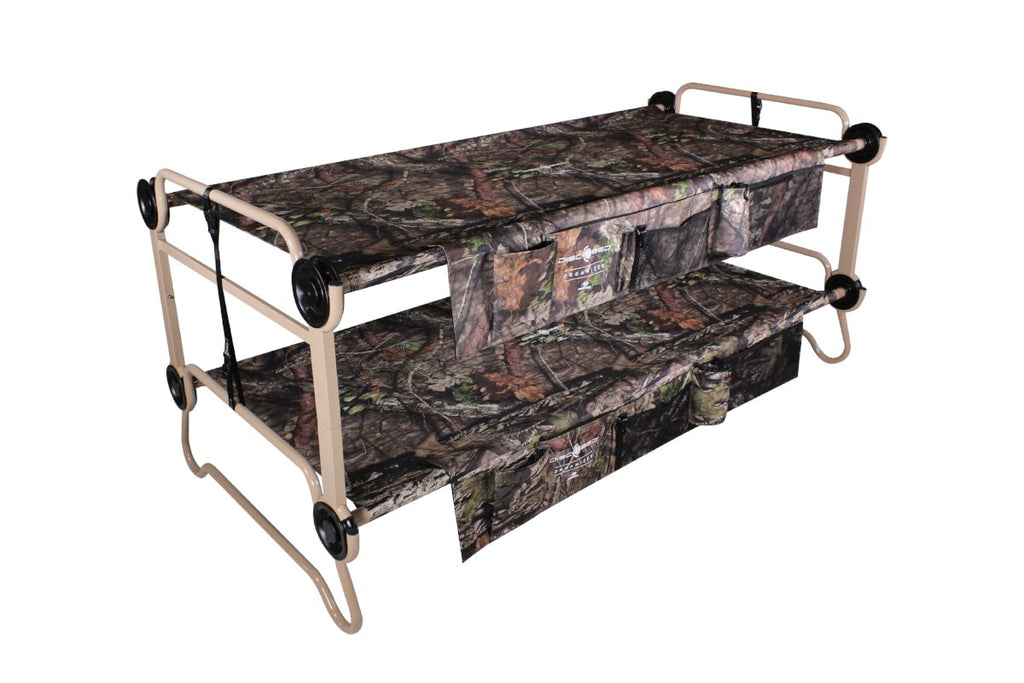 Cam O Bunk Xl With Mossy Oak 174 Including Organizers Disc