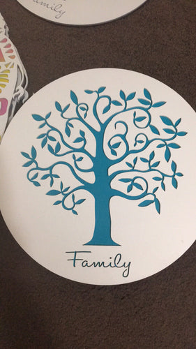Teal Family Tree