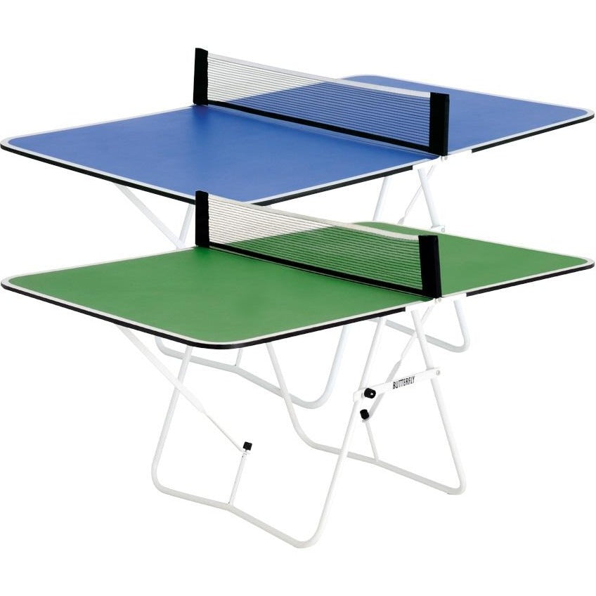 Butterfly BlueGreen Family Ping Pong Table pingponggalore