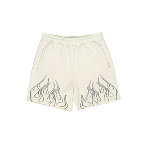 Flames Short (Cream)
