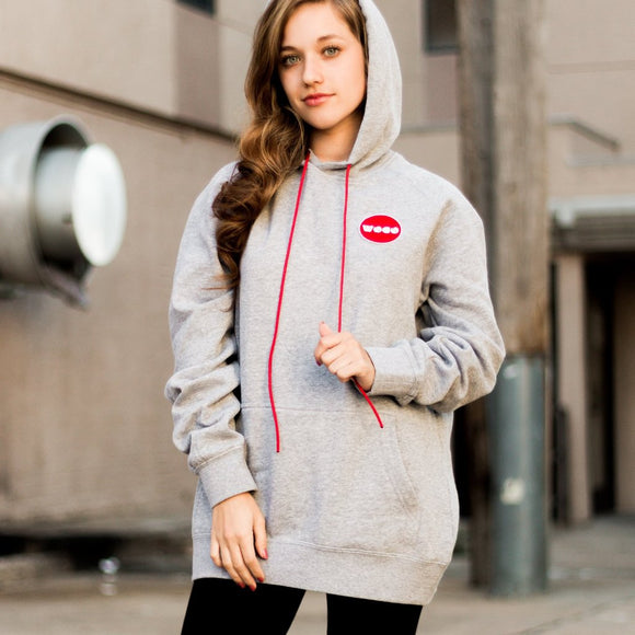 Grey Patch Hoodie