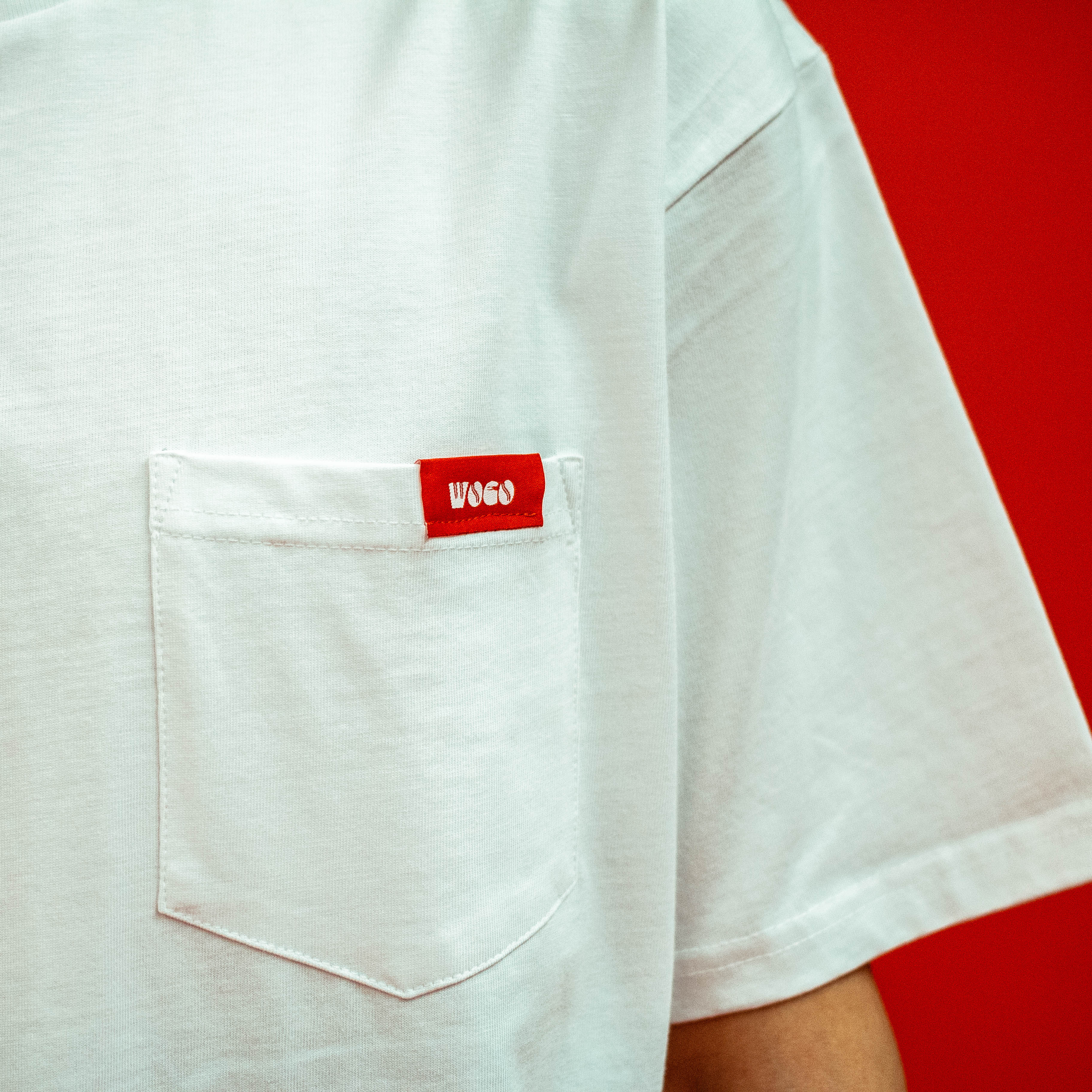 Heavy-weight Pocket Tee