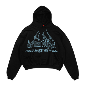 Jesus Make Me Well Hoodie (Black)