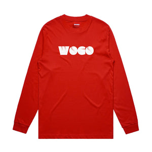 Red Long Sleeve Tee (Wear One, Give One.)