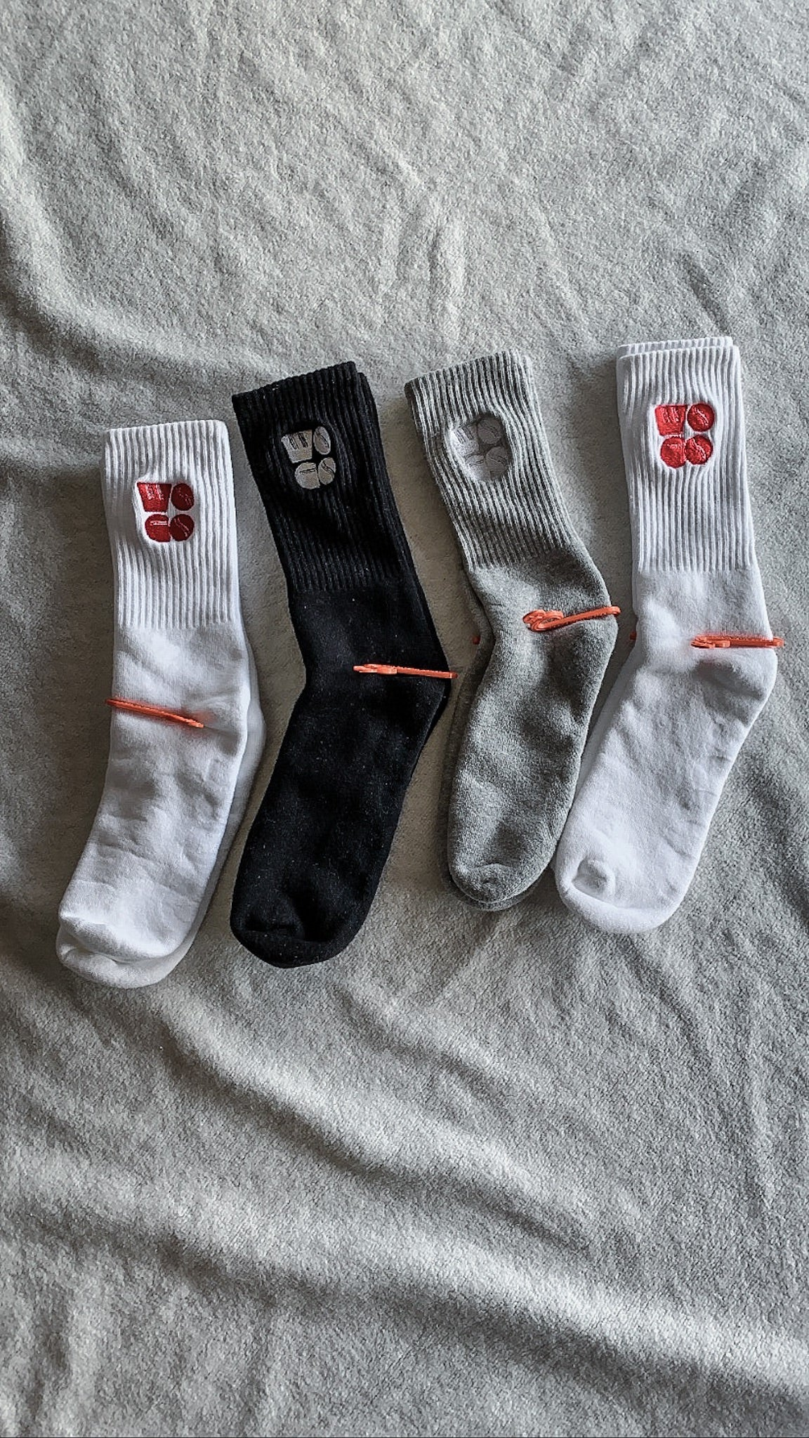 Stacked Logo Crew Sock