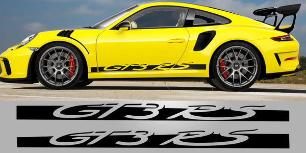 Porsche 991.2 GT3 RS Side Decal Vinyl Stripe Graphics